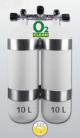 2 x 10L DIR flaskesæt - 230 Bar