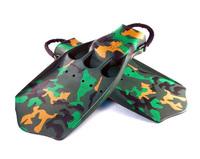 Jet Finner Camouflage - Med Orginale Spring Strap
